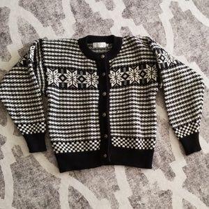 VINTAGE crop sweater